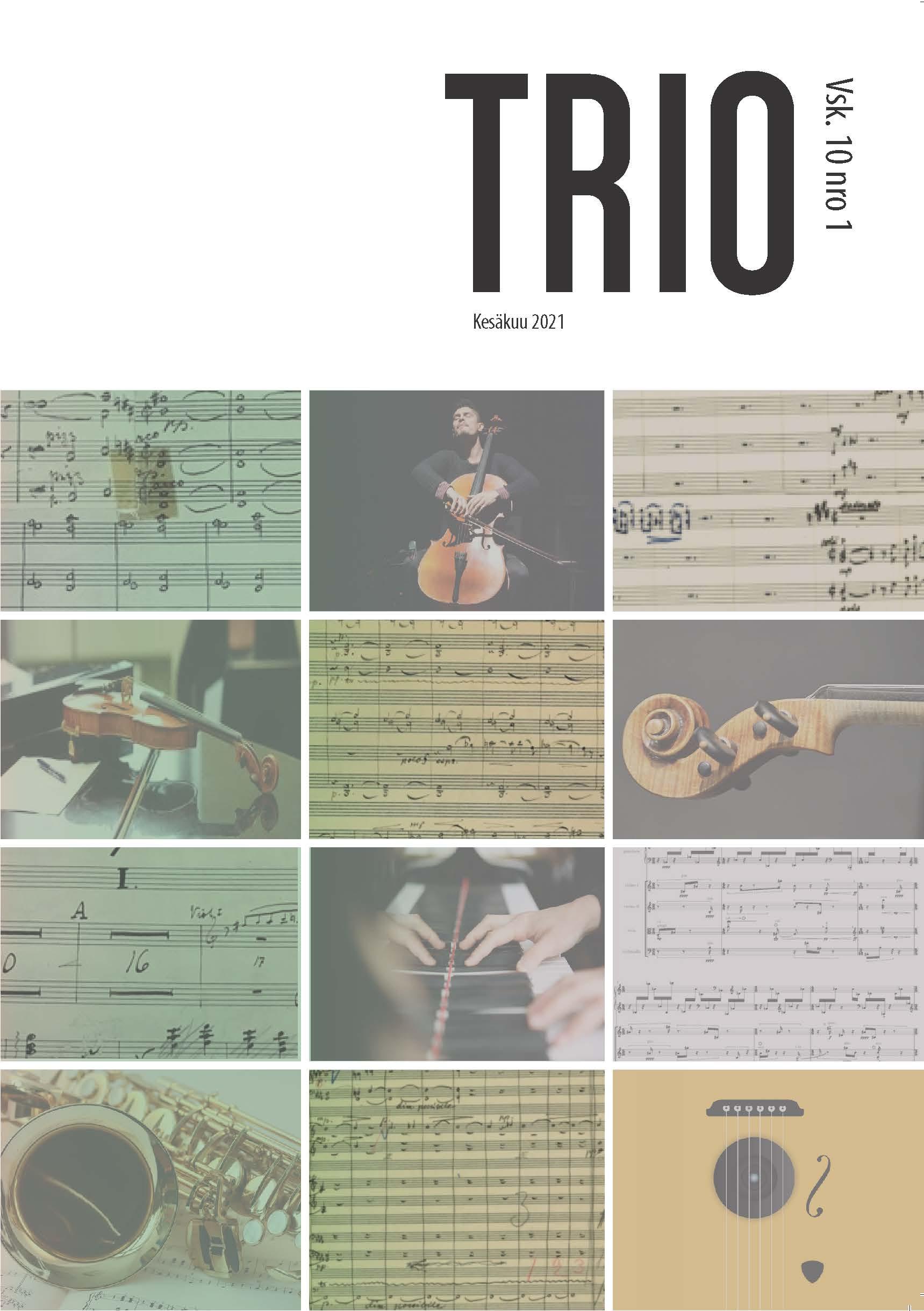 Näytä Vol 10 Nro 1 (2021): Trio